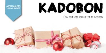 Kadobon | Adriaans Speciaalzaken