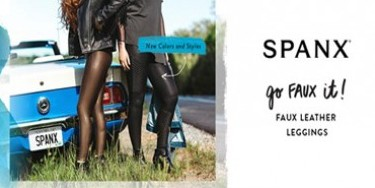 Fashionable faux-leren Spanx legging | Adriaans Speciaalzaken