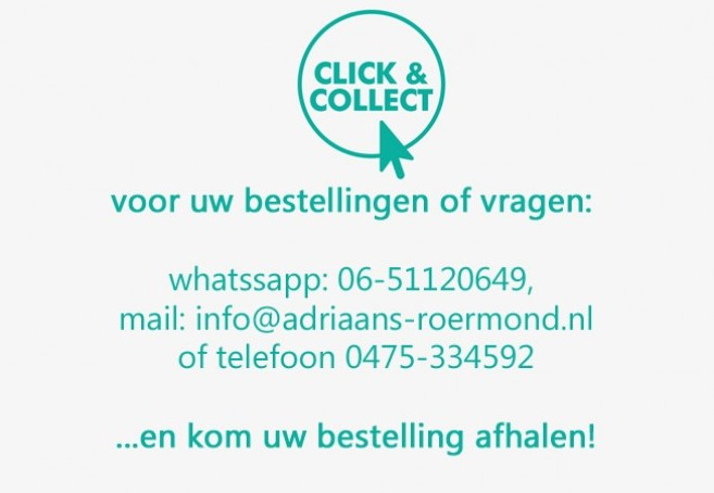 click and collect | Adriaans Speciaalzaken