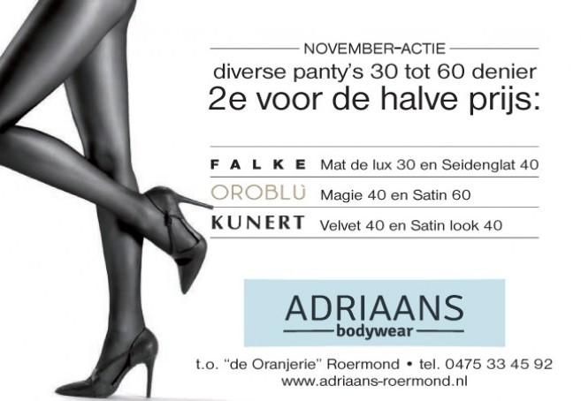 advertentie panties | Adriaans Speciaalzaken