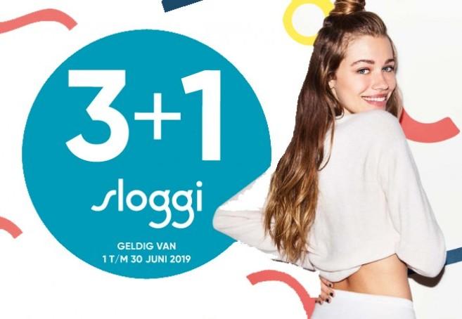 Sloggi Actie juni 2019 3+1 gratis! | Adriaans Speciaalzaken